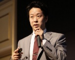 写真●NTTデータ数理システム データマイニング部 研究員の岩永二郎氏(撮影:井上 裕康)