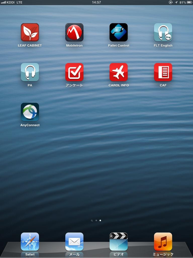 写真3●iPadのデスクトップ画面