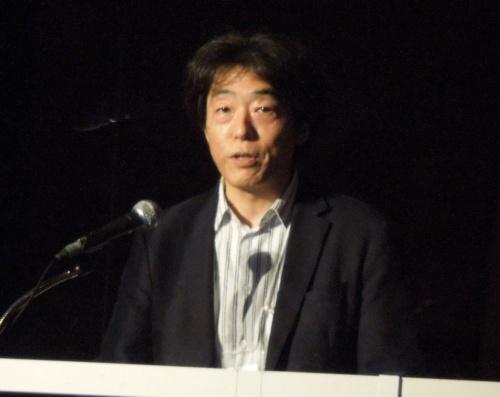 ソニーグループ AIロボティクスビジネスグループ執行役員の川西泉氏。