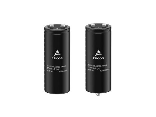 リップル電流耐量を高めたAl電解コンデンサー