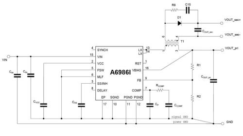 新製品を使った回路構成例
