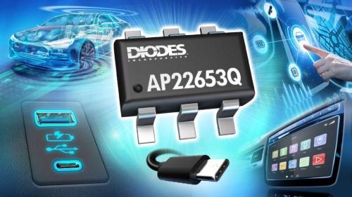 最大1.5Aを流せる車載向け電流制限スイッチIC