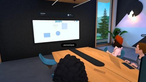 ビジネス会議用VRツール「Horizon Workrooms」にZoom Whiteboardを統合
