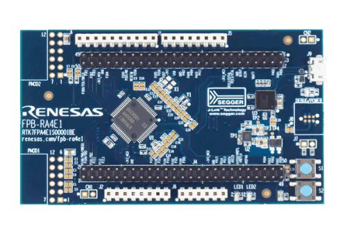 評価ボードの「RA4E1 Fast Prototype Board」