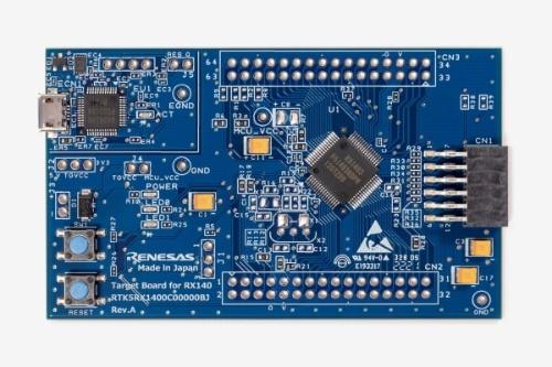 評価ボードの「Target Board for RX140」
