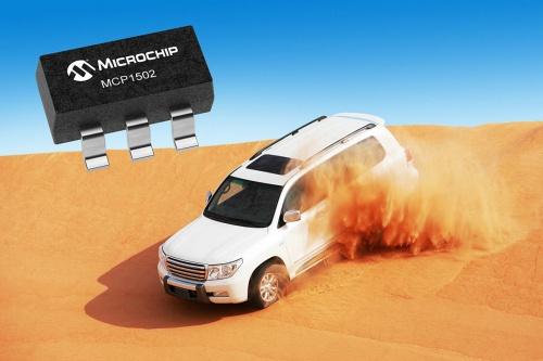 出力電圧の温度ドリフトが7ppm/℃と小さい基準電圧源IC