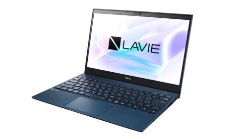 「LAVIE Pro Mobile」。忘れ物を予防・捜索するため、スリープ時でもBluetoothの電波を5~6時間出し続ける機能を追加した