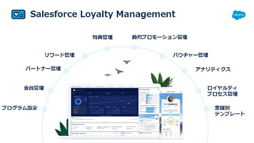 Salesforce Loyalty Managementの機能一覧