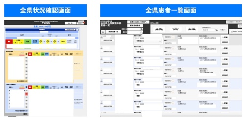新システムの画面イメージ