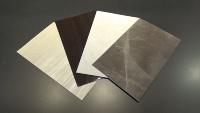 「トッパンリフォームパネル」は4種類の色、パターンが用意されている(資料:凸版印刷)