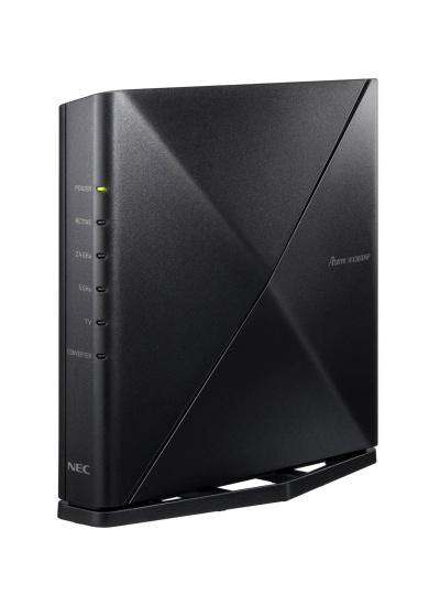 Wi-Fi 6対応の無線LANルーター、NECプラットフォームズの「Aterm WX3600HP」(実売価格は1万5200円前後)