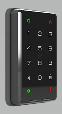 「Do Home Connect」で提供するスマートロック。空室時に、ブレーカーが落ちている間もワンデイパスコードを利用できるため、空室期間中の鍵運用業務効率化につながる。