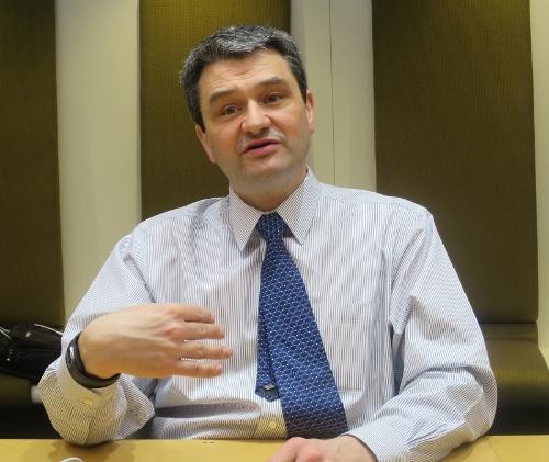 米マイクロソフト AI&Researchグループディレクターのオリヴィエ・フォンタナ氏