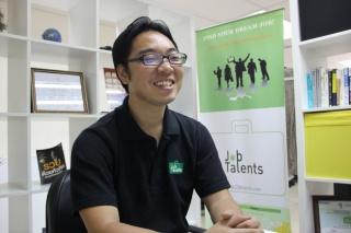 TalentEx(Thailand) 共同創業者兼CEO(最高経営責任者) 越 陽二郎 氏