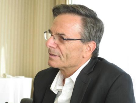 写真1●NAYAXのネクマド・ヤイル CEO(最高経営責任者)