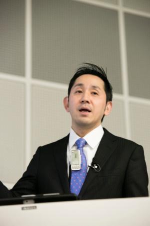 写真2●タニタ代表取締役社長の谷田千里氏