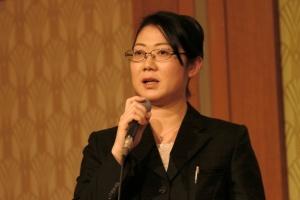 モデレータを務めたNexal代表取締役の上島千鶴氏