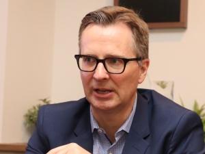 米Lytics CEO(最高経営責任者)のジェームス・マクダーモット氏