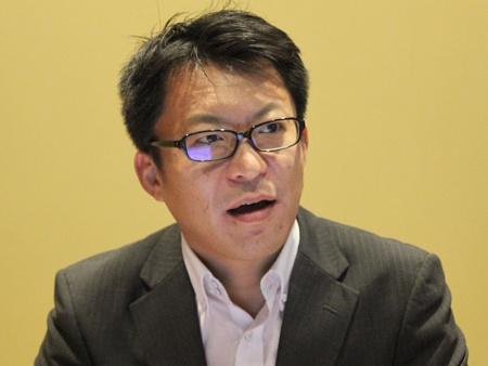 セールスフォース・ドットコム マーケティング本部プロダクトマーケティング シニアマネージャーの田崎純一郎氏