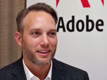 米アドビ システムズ Adobe Experience Cloudプロダクトマジメントシニアディレクター スティーブ・ハモンド氏