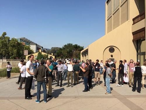 写真1●Hot Chips 29の会場となったクパチーノのデアンザカレッジ
