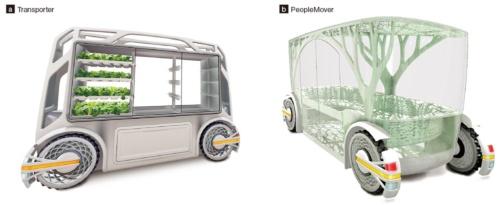 図2 日野自動車によるモビリティー車両のコンセプトデザイン