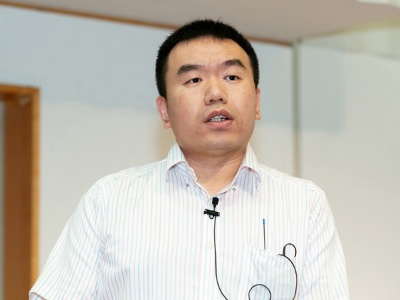 SBクラウド ソリューションアーキテクト 王 志正氏(撮影:海老名 進)