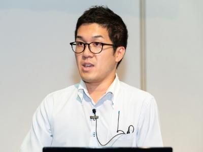 サントリーシステムテクノロジー 基盤サービス部主任 石橋浩平氏(撮影:海老名 進)