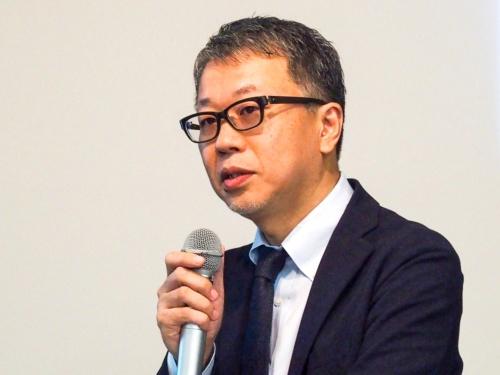 写真2●IIJ MVNO事業部コンシューマサービス部長の亀井正浩氏