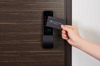 入居者は専用カードで施解錠できる(画像提供:ライナフ)
